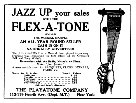 Flex-A-Tone advertisement